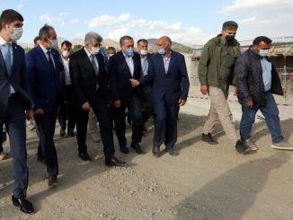 Vali Bilmez Gürpınar'da Körpü və Yol İnvestisiyalarını araşdırdı