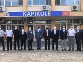 Drucker untersucht Kapıkule Border Gate nach Europa