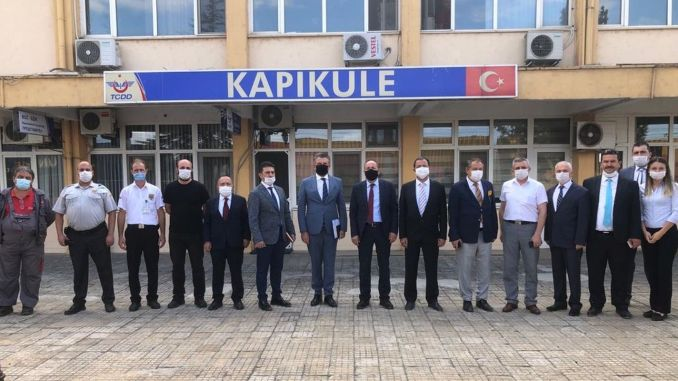 Yazıcı Investigates at Kapıkule Border Gate to Europe