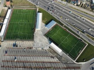 Yenikapı Football Fields in the Service of Sports