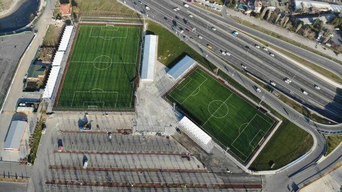 Yenikapı Fußballfelder im Dienste des Sports
