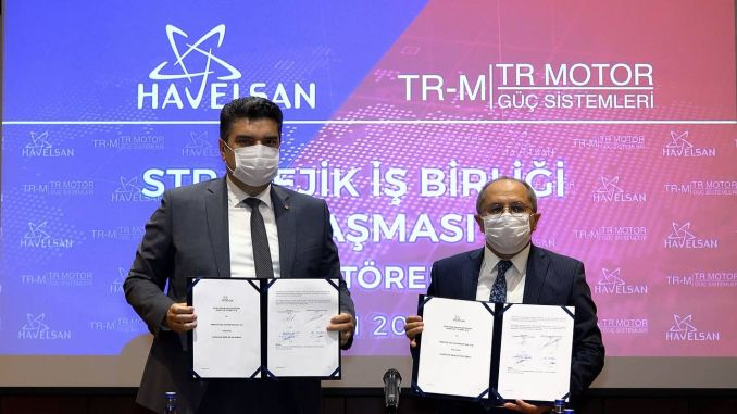 Cooperation between HAVELSAN and TR Engine for Domestic Aircraft Engine