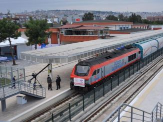 Samsun Sivas Railway Line Opened with a Ceremony