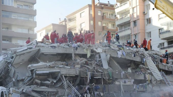 Afadin-Helden sprachen über ihre lebensrettenden Aktivitäten beim Erdbeben in Izmir