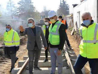 Afyonkarahisar garrison junction rail line renewed