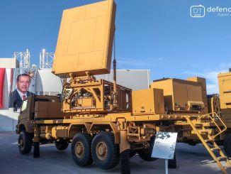 Radar deteksi senjata jarak jauh Aselsan akan dikirimkan pada akhir tahun ini.