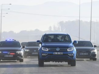 minister tested the north marmara highway with karaismailog