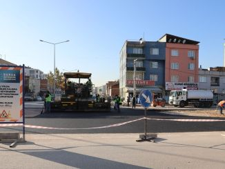 Smart intersection works are continuing for uninterrupted transportation in Bursa