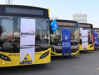 Bursa da yeni vasitə ilə avtobus parkı