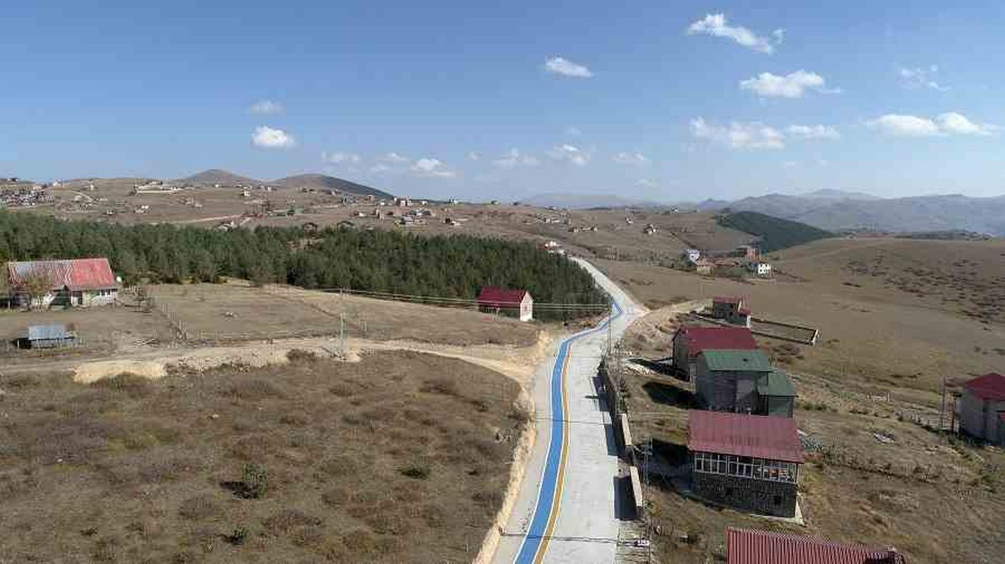 Cambasi plateau bicycle path construction work continues