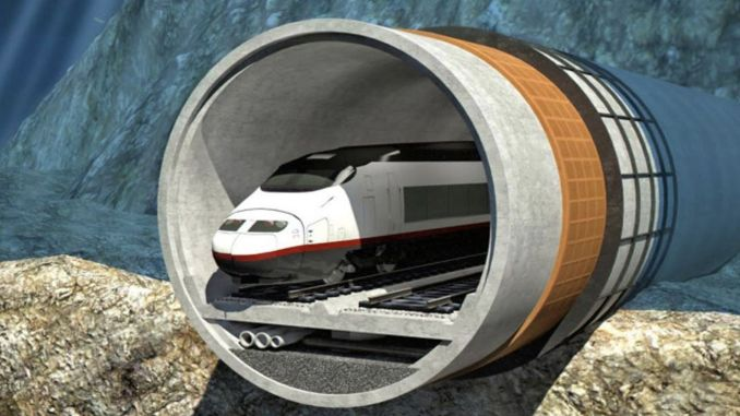 Construction of World's Longest Underwater Railway Tunnel in China Approved