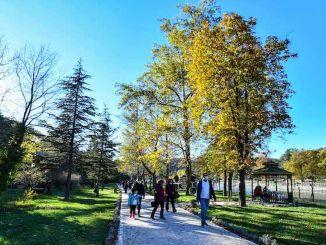 Area rekreasi bendungan batang kembali ke masa lalu