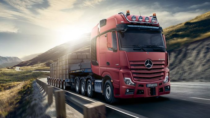 Daimler prepares to manufacture Actros trucks in Benzin