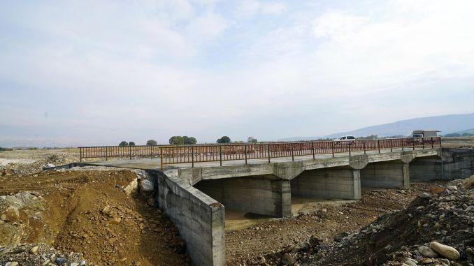 Delicay Bridge is voltooid