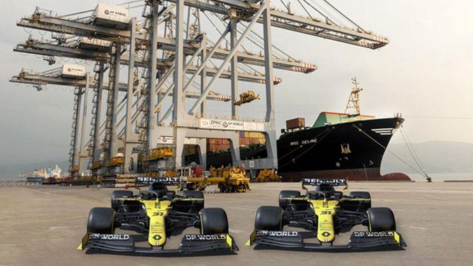 dp world becomes title sponsor of renault formula team