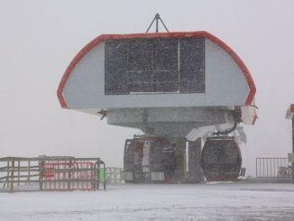 Planina Erciyes odjenula je bijelu vjenčanicu nakon pada snijega