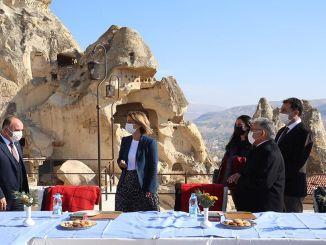 erciyes ile kapadokya kis turizminin gozdesi olacak