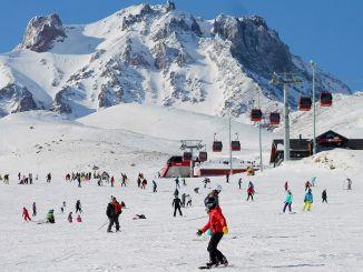 El centro de esquí erciyes tomó medidas covid para la temporada de esquí