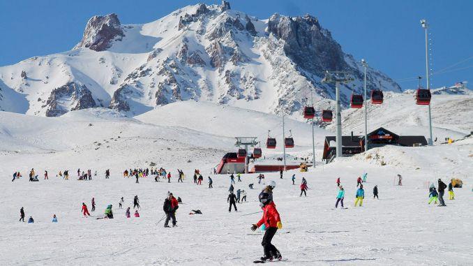 Centrul de schi erciyes a luat măsuri covide pentru sezonul de schi