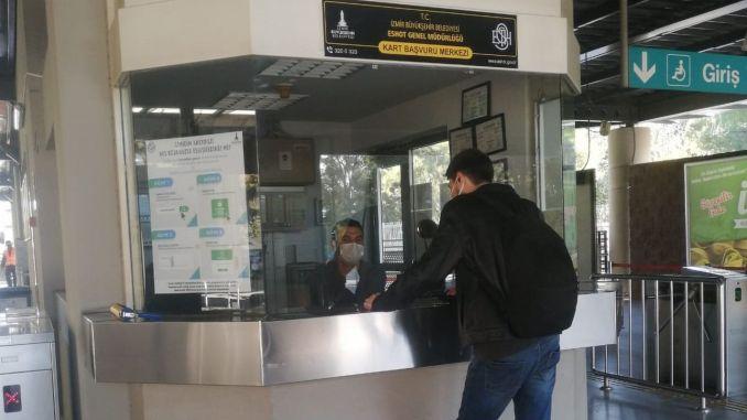 Ang Eshot Bornova Metro Station nagbukas us aka card application center