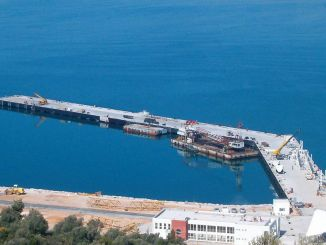 Gulluk port was given to the private company for the year