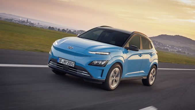 hyundai kona electric is now more technological and modern