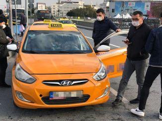 ibbden kisa mesafede yolcu almayan taksicilere ceza