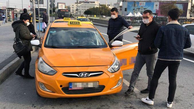 Штраф для водителей такси, не доставляющих пассажиров на близкое расстояние от ИББ