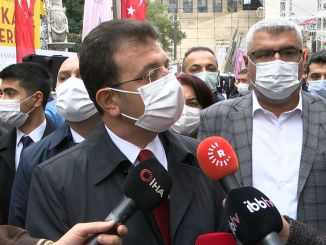 We want the imamoglu earthquake council to be formed