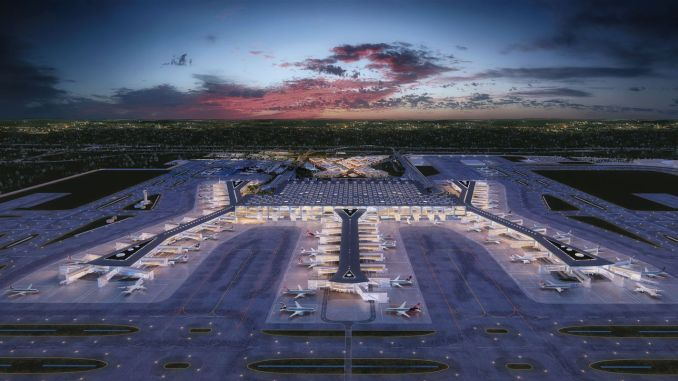 Аэропорт Стамбула будет подключен к сети метро с двух сторон