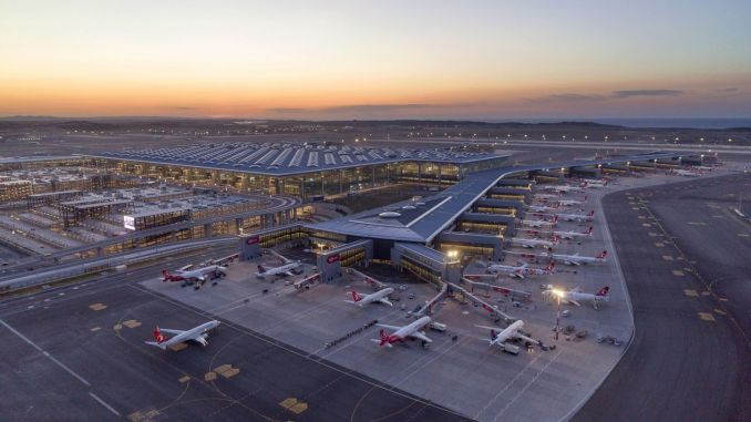 Istanbul Airport, Airport Had the Most Performed flight in Turkey