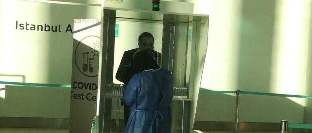 इस्तानबुल एयरपोर्ट में कोविद टेस्ट से निजी क्षेत्र को बड़ा मुनाफा