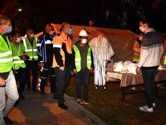Goodness Points from Izmir Metropolitan to Tent Areas