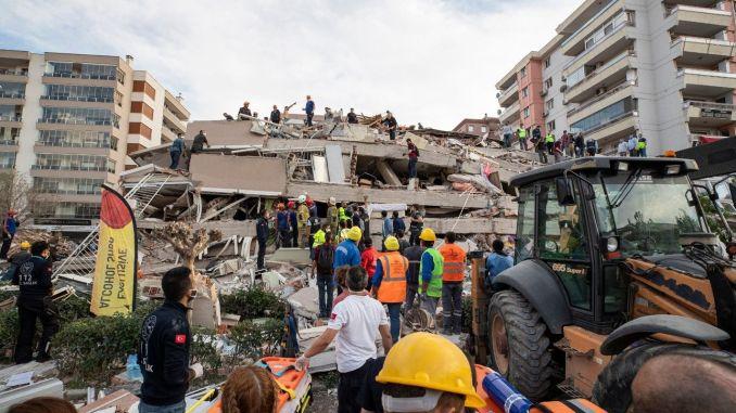 Izmir earthquake collective wisdom meeting begins