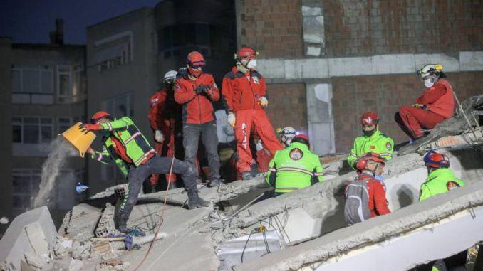 İzmir Seferihisar Earthquake Current Situation 114 Dead, 1035 Injured and 1.713 Aftershocks