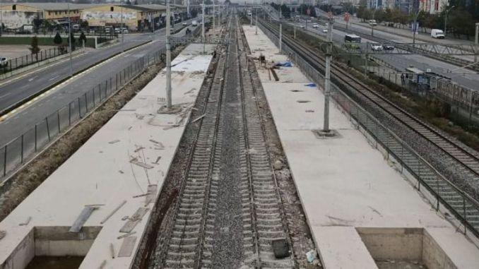 Radovi na željezničkoj stanici Izmit House nikad se ne završavaju