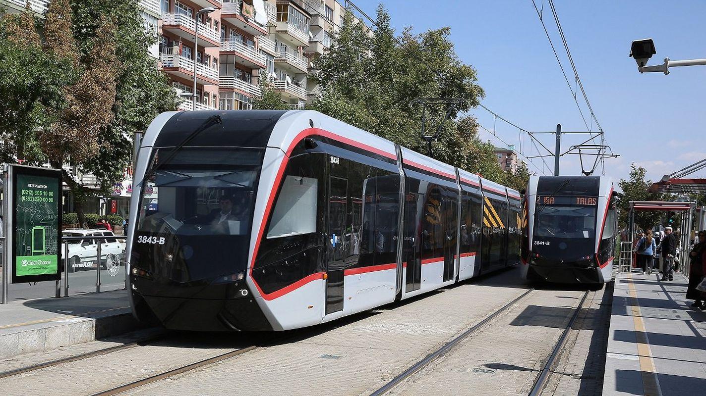 รถรางไฟฟ้า Kayseri ให้เช่า