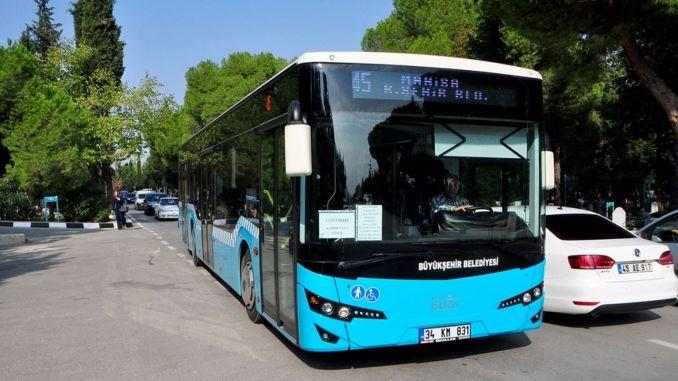 Account code period in manisa public transportation