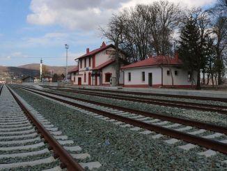 Samsun Sivas-spoorweg wordt geopend