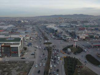 Şaşmaz Sanayi puiestee liikluskatse saab otsa