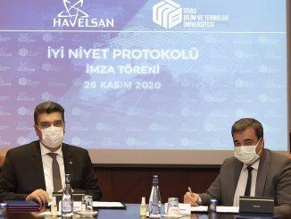 Sivase teadus- ja tehnoloogiaülikooli ning Havelsani koostöö
