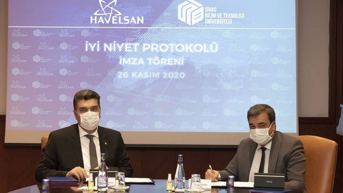 Cooperazione tra Sivas Science and Technology University e Havelsan