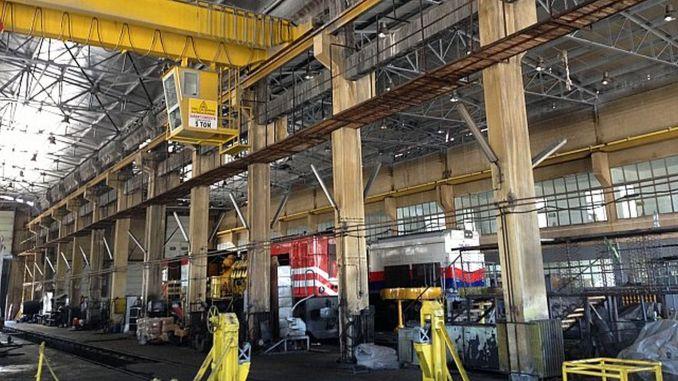 Ως αποτέλεσμα του διαγωνισμού πραγματοποιήθηκαν εργασίες επισκευής εργαστηρίου συντήρησης ατμομηχανής Sivas.