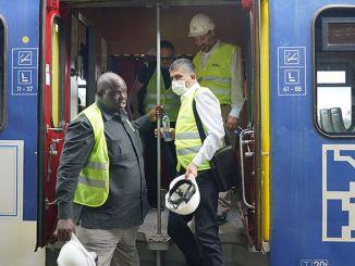 তানজানিয়া রেলপথে টিসিডিডি প্রতিনিধি দল