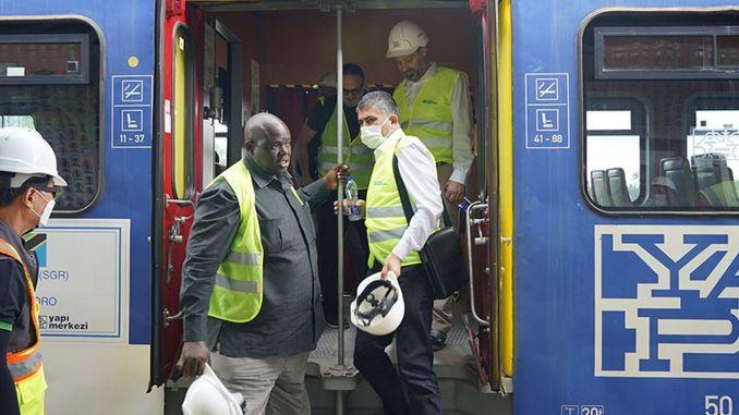 tcdd delegation in tanzania railways