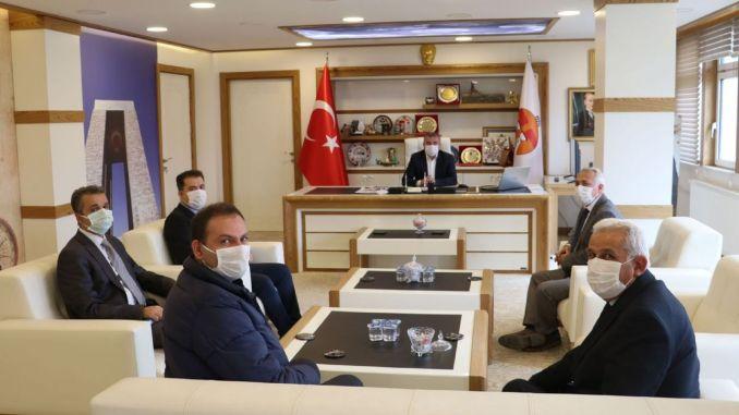 TCDD Sivas Regional Delegation Visited Havza Mayor Özdemir