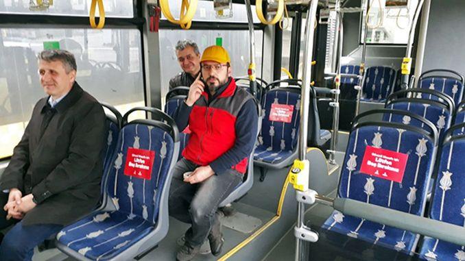 transporte público seguro en términos de covid