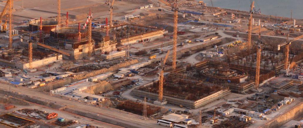 turkiyenin går i drift i det første atomkraftværk