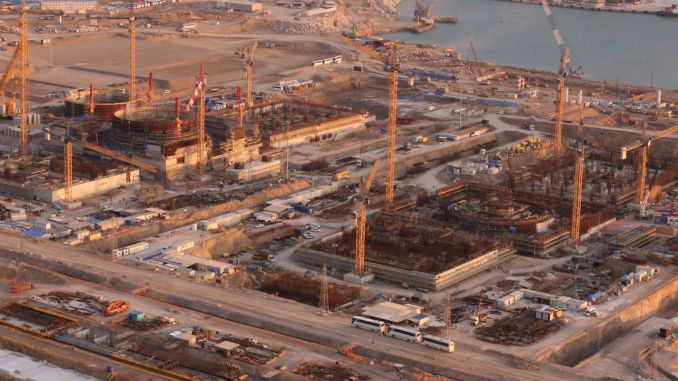 turkiyenin will enter service in the year the first nuclear power plant