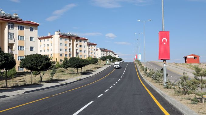 ercise million road investment from van buyuksehir municipality